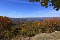 View of the North Carolina Mountains Stock Image