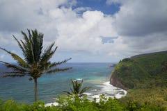 Pololu Valley, Big Island, Hawaii Royalty Free Stock Photos