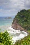 Pololu Valley, Big Island, Hawaii Stock Images