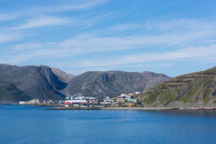 View of north coast in Norway Stock Photography
