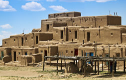 A View of North House, Taos Pueblo Royalty Free Stock Image
