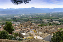 View north from Montesa Castle Royalty Free Stock Images