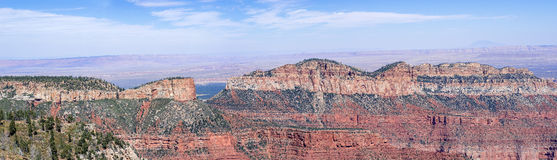 View From The North Rim Of The Grand Canyon Royalty Free Stock Photography