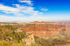 View From The North Rim Of The Grand Canyon Stock Photo