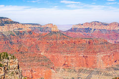 View From The North Rim Of The Grand Canyon Royalty Free Stock Photo