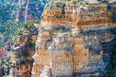 View From The North Rim Of The Grand Canyon Royalty Free Stock Images