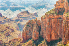 View From The North Rim Of The Grand Canyon Stock Photography