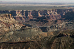 View from the north rim of the Grand Canyon. Royalty Free Stock Photo