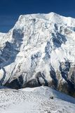 North rock face of mount Annapurna 3 III Royalty Free Stock Photos