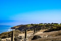 View North from Torrey Pines Gliderport royalty free stock images