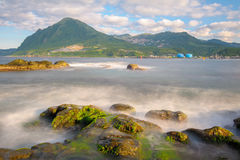 View of the northern coast in taiwan Stock Photography