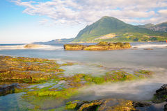View of the northern coast in taiwan Stock Photos