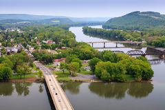 View of Northumberland Pennsylvania Stock Images