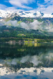 View On Norway Mountain Landscape Royalty Free Stock Photography