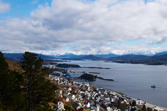View in norway Royalty Free Stock Photo