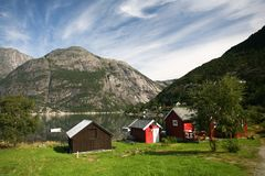 View in norwegian fjord Royalty Free Stock Images