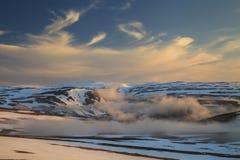 View of the Norwegian mountains Stock Photo