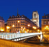 View on Notre Dame Cathedral in Paris Royalty Free Stock Images