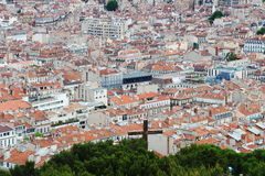 View from Notre Dame de la Garde, Marseille, France Royalty Free Stock Photo