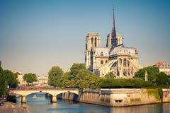 View on Notre Dame de Paris Stock Photography
