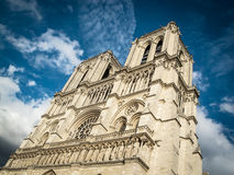 View of Notre Dame de Paris. Royalty Free Stock Photo