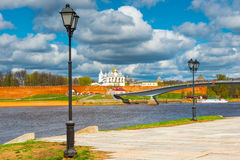 View of the Novgorod Kremlin, Russia Stock Photography