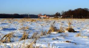 View of the Novgorod Kremlin in winter Stock Photos