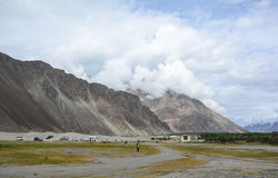 View of Nubra valley in Ladakh, India Royalty Free Stock Image