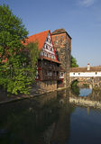 View of Nuremberg in Bavaria Royalty Free Stock Photos