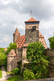 View of Nuremberg Castle in Bavaria Royalty Free Stock Image