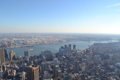 View of NYC from Empire State Stock Photography