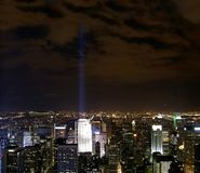 View nyc night  Royalty Free Stock Photography
