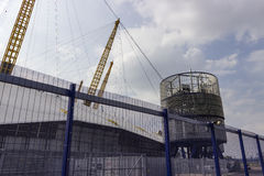 View of the O2 Arena Structure Stock Images