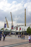 View of the O2 Arena Structure Royalty Free Stock Photography