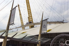 View of the O2 Arena Structure Stock Photos