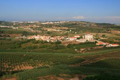 View on Obidos Stock Photography