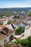 View of Obidos Royalty Free Stock Photography