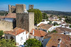 View of Obidos Royalty Free Stock Photo