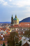 View from the observation deck on the old city, Prague, Czech Republic Stock Photo