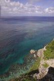 A view from the observation stand of Funagisaginavanata. At Irabujima, Okinawa Prefecture Stock Images