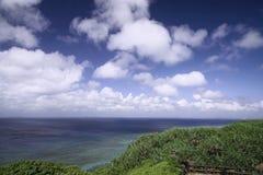 A view from the observation stand of Funagisaginavanata. At Irabujima, Okinawa Prefecture Stock Photo