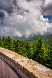 View from the Observation Tower at Mount Mitchell, North Carolin Royalty Free Stock Photos