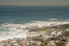 View of Ocean from Kloofnek Royalty Free Stock Images