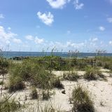 View of the ocean. South Florida ft lauderdale Royalty Free Stock Image