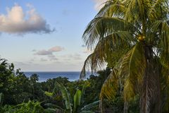 Ocean view Ocho Rios Jamaica stock image