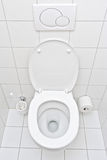 View Of A Toilet Stock Photography
