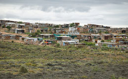 Free View Of A Township In South Africa Royalty Free Stock Images - 53627779