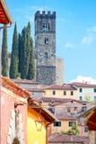 View Of Barga, Lucca, Tuscany. Royalty Free Stock Photo