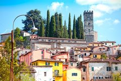 Free View Of Barga, Lucca, Tuscany. Royalty Free Stock Photography - 100290157