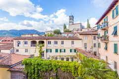 Free View Of Barga, Lucca, Tuscany, One Of The `most Beautiful Villages In Italy` Stock Images - 151498994